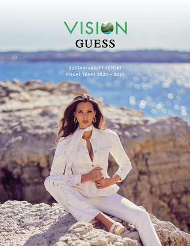 Preview: GUESS releases FY2020-2021 sustainability report