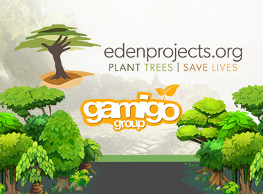 gamigo cooperates with Eden Reforestation Projects to help restore forests around the globe