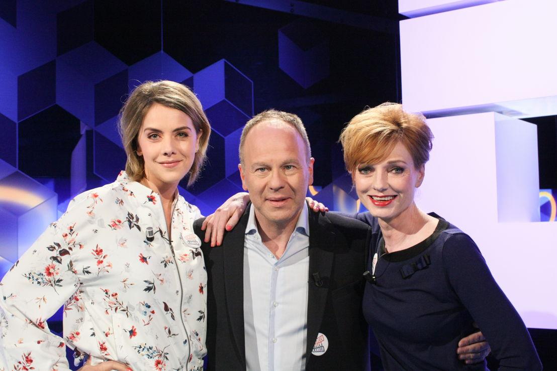 Leen Dendievel en Marleen Merckx in Blokken op woensdag 19 april (c) VRT