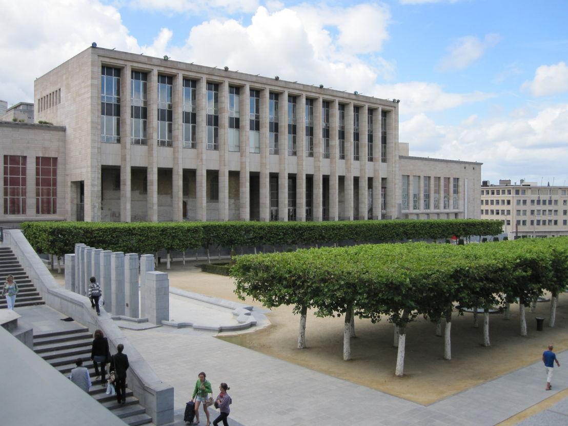 De Koninklijke Bibliotheek van België op de Kunstberg in Brussel