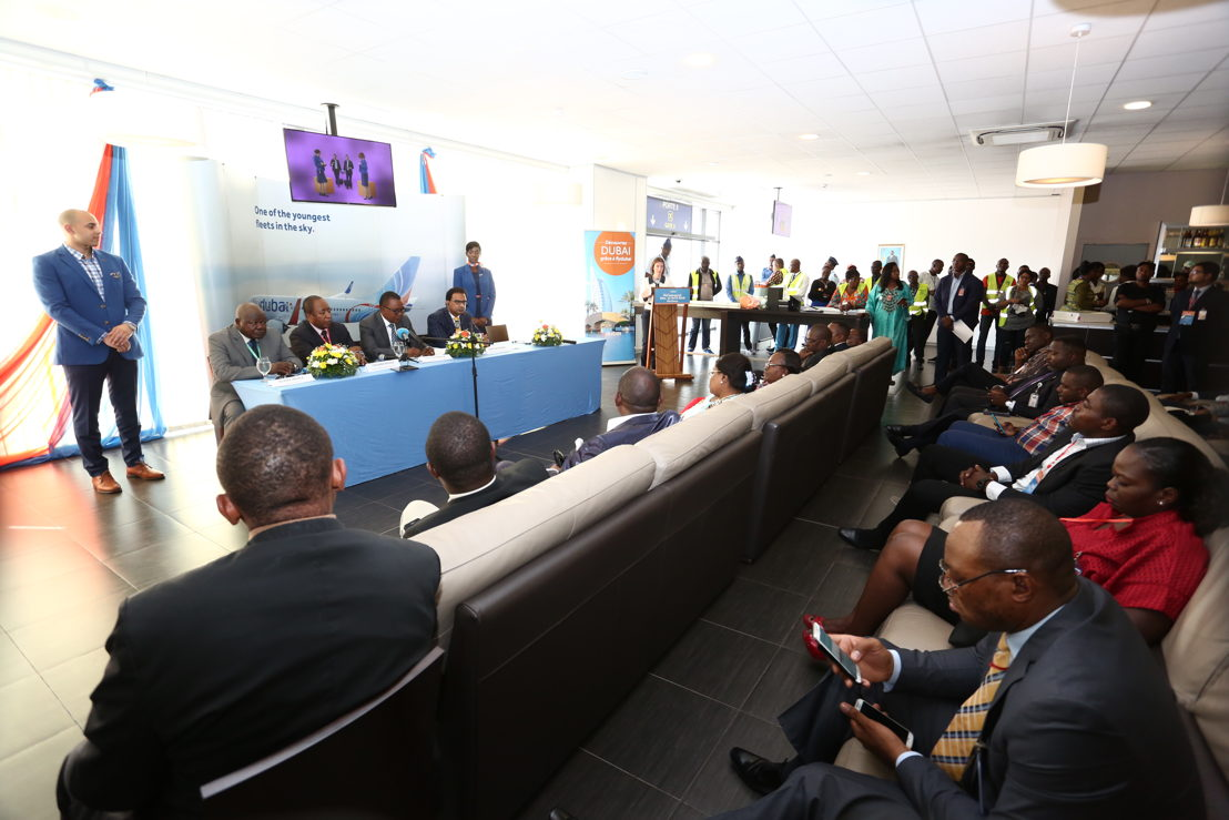 flydubai's Press Conference is held in Kinshasa