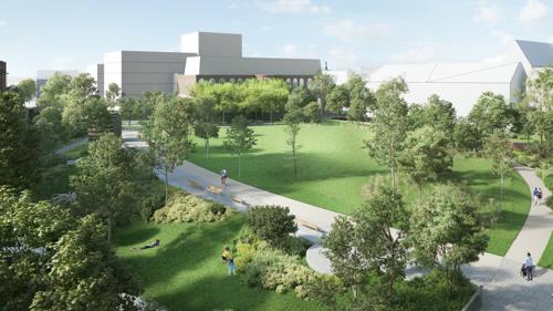 Twaalf nieuwe en vernieuwde parken in Leuven tegen 2025