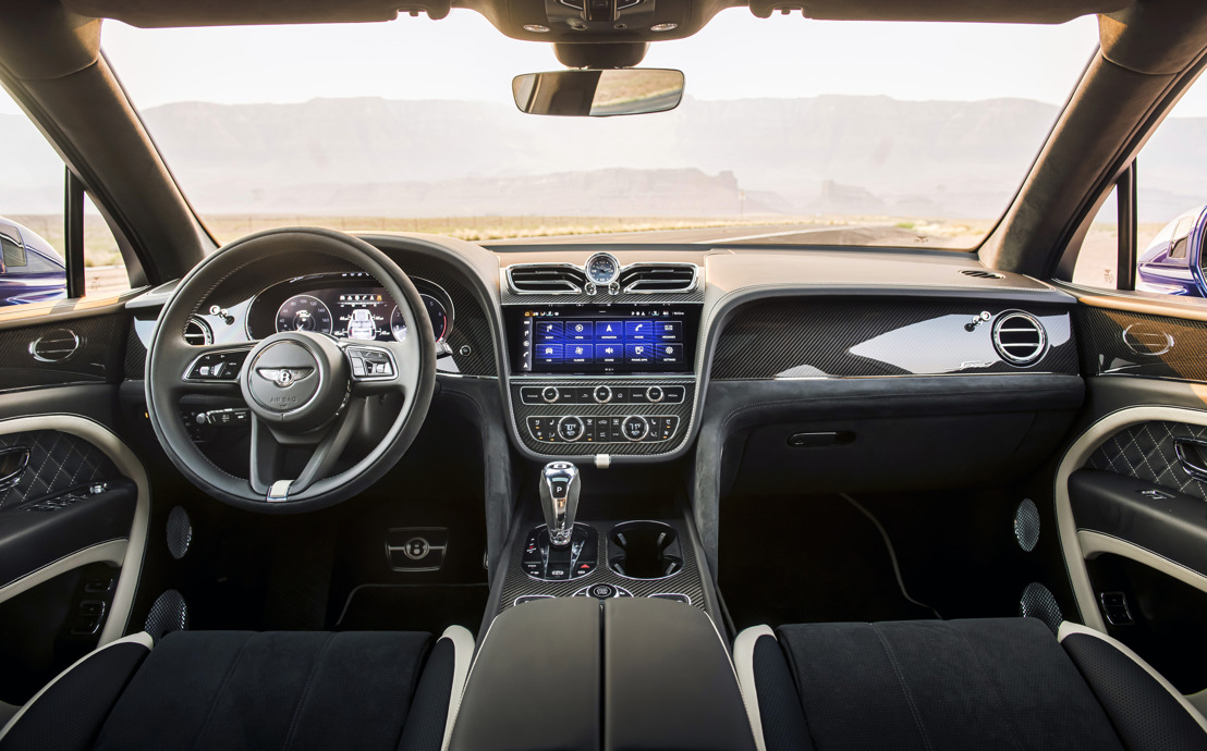 BENTLEY CLAIMS WARDS 10 BEST INTERIORS TROPHY FOR THE THIRD CONSECUTIVE YEAR WITH BENTAYGA SPEED