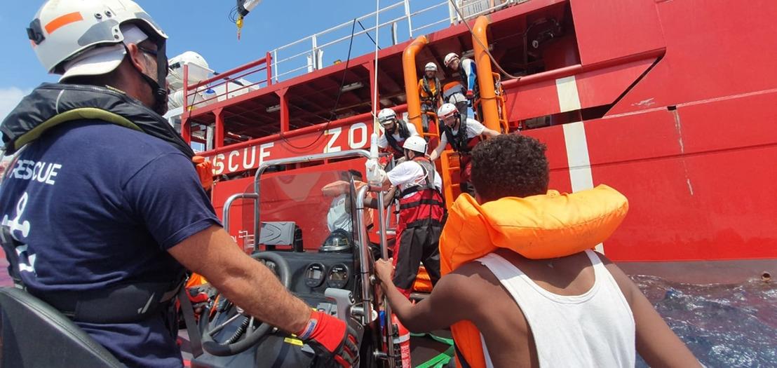 Ocean Viking: Convocatoria de rueda de prensa de MSF y SOS Mediterranée en Berlín