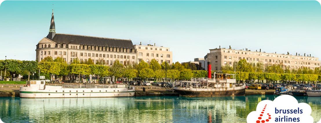 Brussels Airlines relie Nantes à Bruxelles
