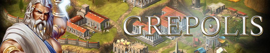 Kriegerische Zeiten: Grepolis startet Schlacht um Troja Event