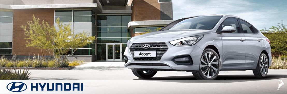 Hyundai Accent, por segundo mes consecutivo, lidera las ventas para Hyundai Motor de México