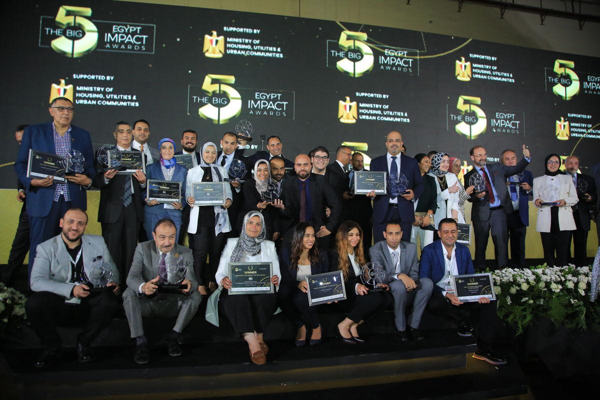 The Big 5 Egypt Impact Awards Winners
