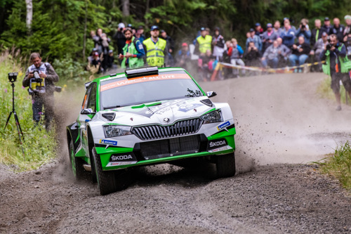 Wales Rally GB: Match point for ŠKODA's Kalle Rovanperä chasing the WRC 2 Pro title