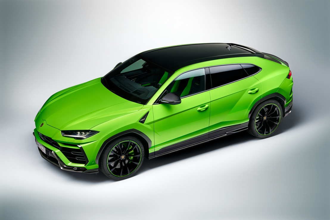 Automobili Lamborghini presents the Urus Pearl Capsule: unlocking new adventures in color for the Lamborghini Urus