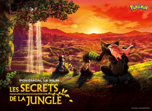Le nouveau film d'animation Pokémon, Pokémon, Le Film : Les Secrets de la Jungle, sort sur Netflix le 8 octobre 2021, à l'occasion de la célébration du 25e anniversaire de Pokémon
