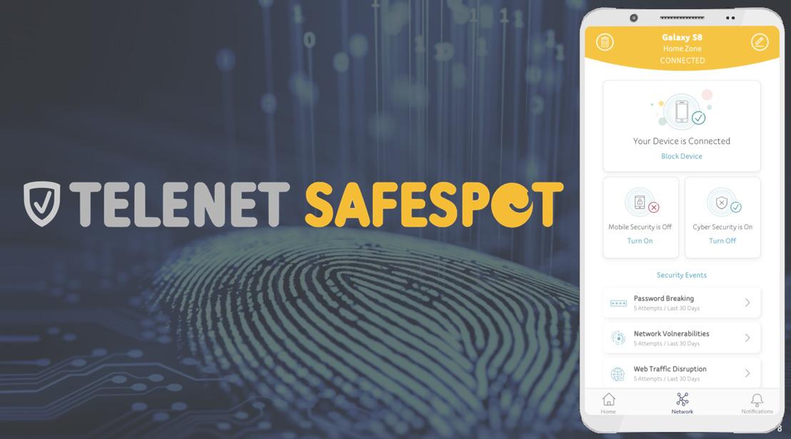 Telenet comble les failles par lesquelles les cybercriminels s'infiltrent dans votre habitation