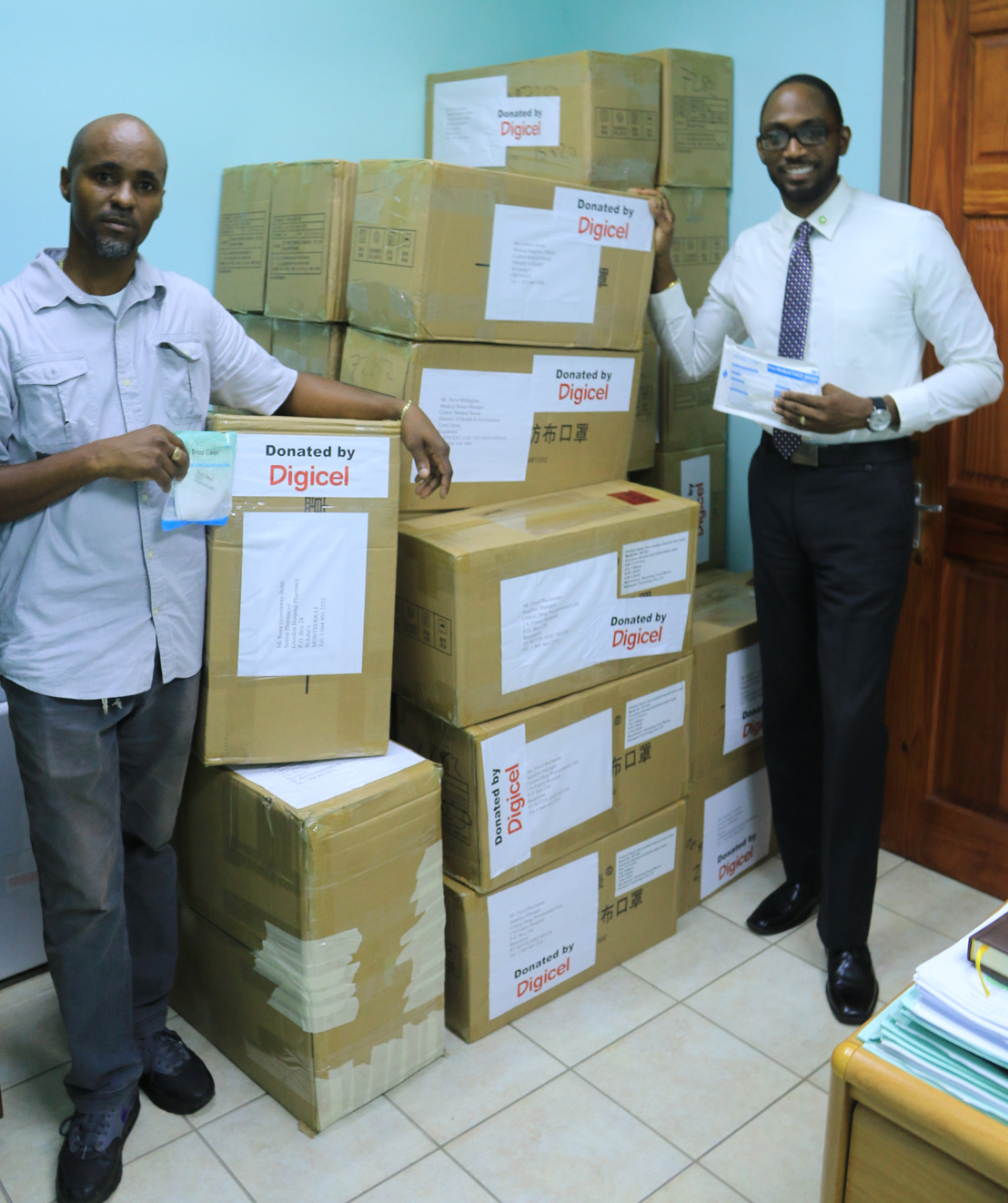 Digicel Donation Supports OECS Public Health Care Systems