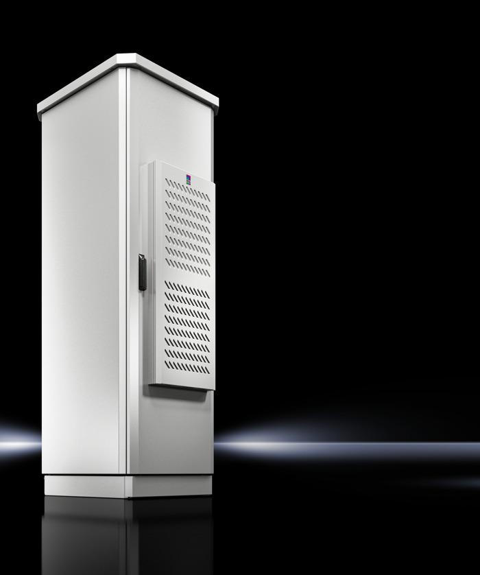 Les unités de refroidissement Blue e+ de Rittal conviennent désormais aussi aux applications outdoor