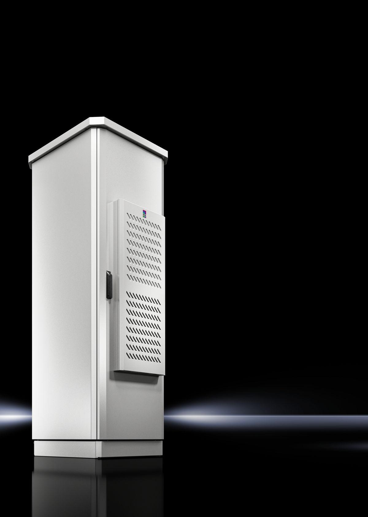 Blue e+ outdoor koelunits en Toptec buitenbehuizingen van Rittal