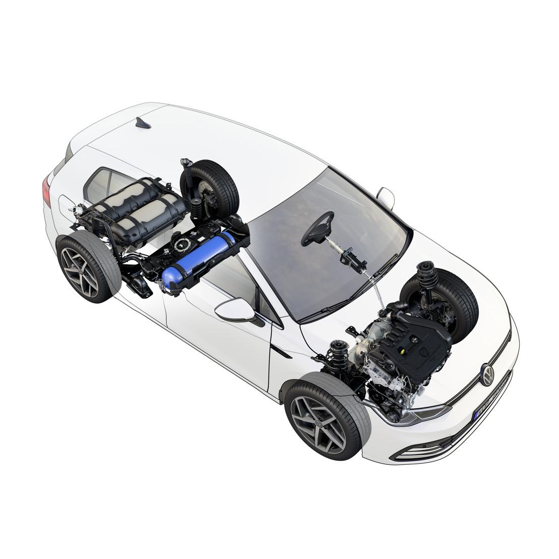 De nieuwe Golf nu beschikbaar in de TGI-versie op aardgas
