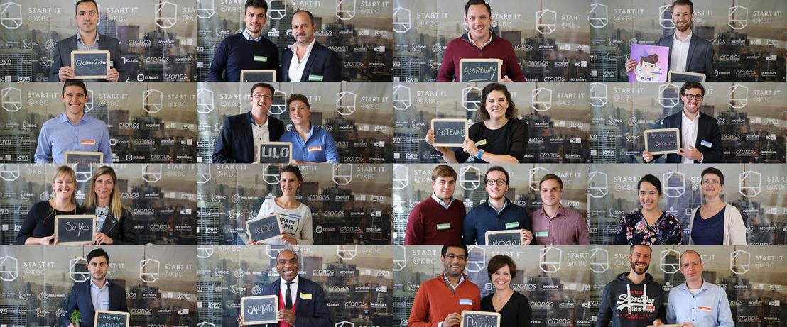 Start it @KBC intègre le réseau des meilleurs accélérateurs du monde et accueille 41 nouvelles start-up