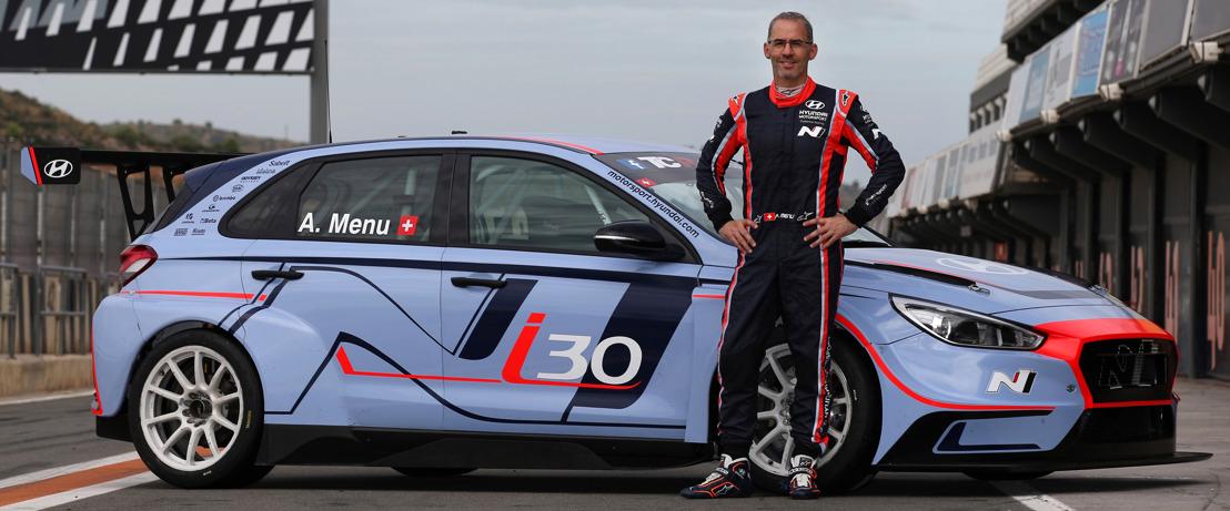 Alain Menu fährt die letzten zwei Rennen der TCR International Series 2017 mit dem Hyundai i30 N TCR