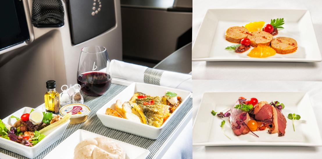 Brussels Airlines propose des menus du Chef Eric Pankert