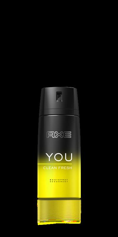 Bodyspray AXE YOU CLEAN FRESH