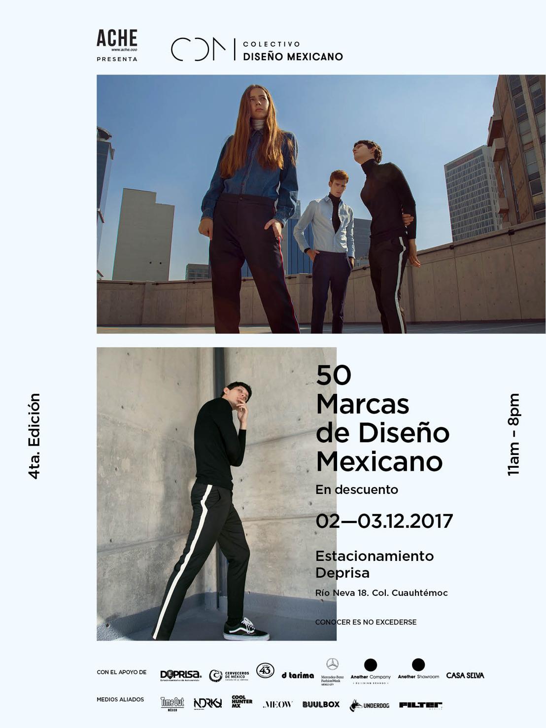 Regresa Colectivo Diseño Mexicano reuniendo 50 marcas con sello local el próximo 2 y 3 de Diciembre
