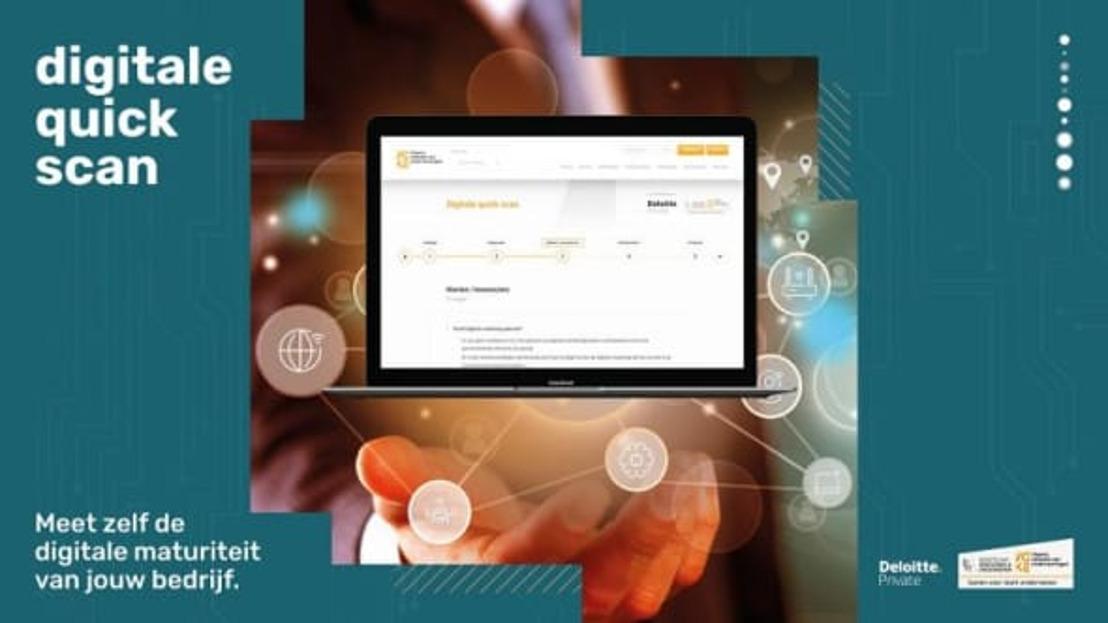 Met de digitale quick scan wil Voka West-Vlaanderen elke onderneming op de digitale snelweg