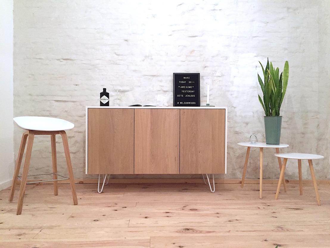 Wilson Woods: Scandinavische designmeubels van Belgische bodem