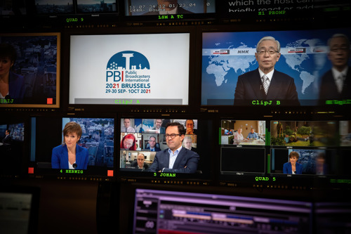 VRT and RTBF host (online) media conference with CEOs from all over the world