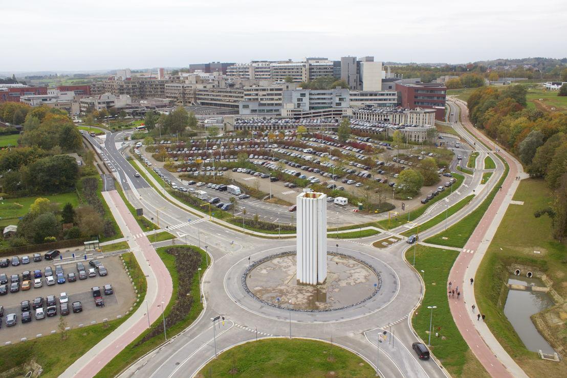 Luchtfoto campus Gasthuisberg