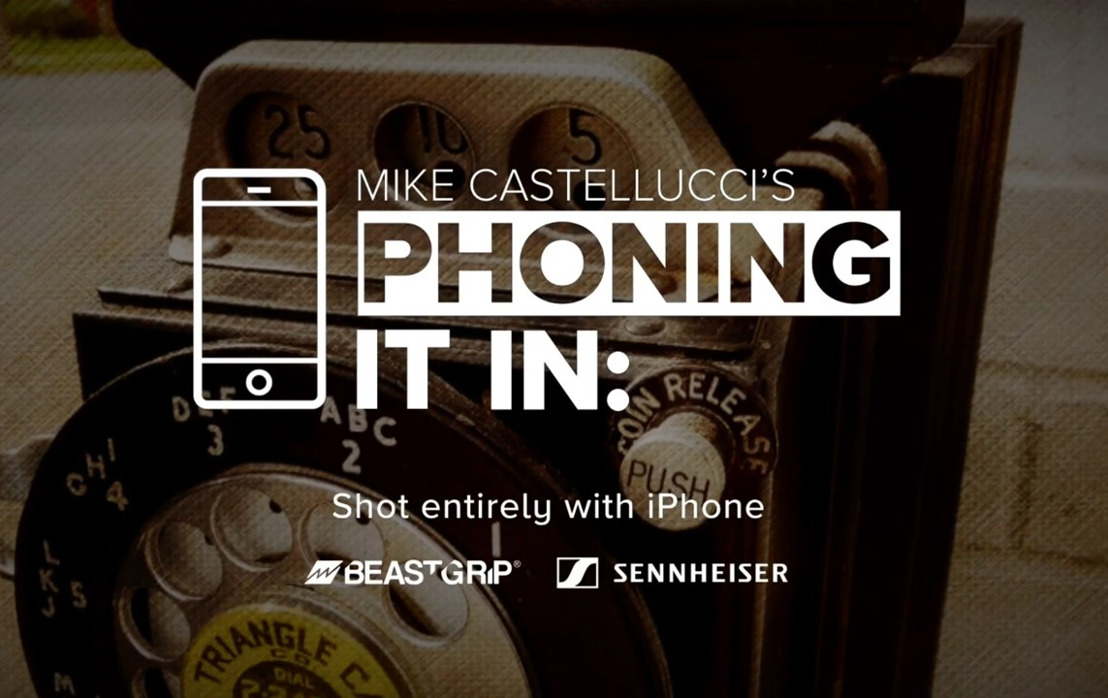 El MKE 400 de Sennheiser es adoptado por el pionero del periodismo móvil, Michael Castellucci