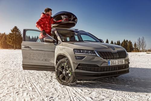 Safe and comfortable skiing holidays with ŠKODA