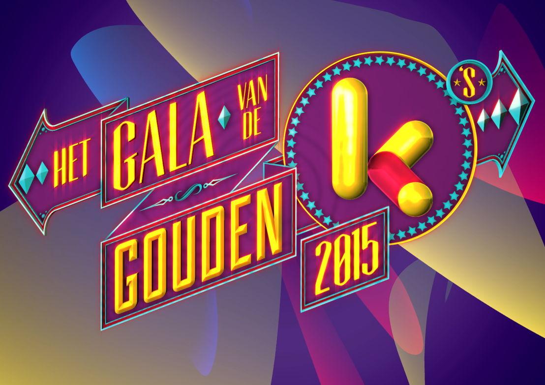 Het logo van het Gala van de Gouden K's - (c) VRT