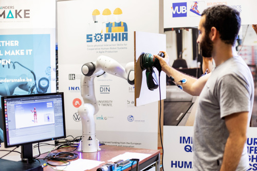 VUB and partners in Italy, Germany, France and the Netherlands receive €6.5 million of EU support to develop new generation of ergonomic robots