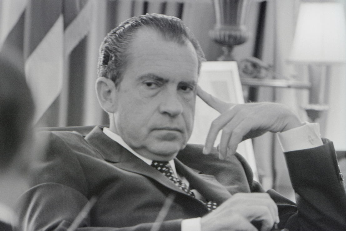 The Vietnam War - Aflevering 7: President Richard Nixon in de 'Oval Office' 1970 - (c) Richard Nixon Presidential Library