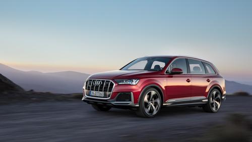 Een niveau hoger: nieuwe editie van de Audi Q7