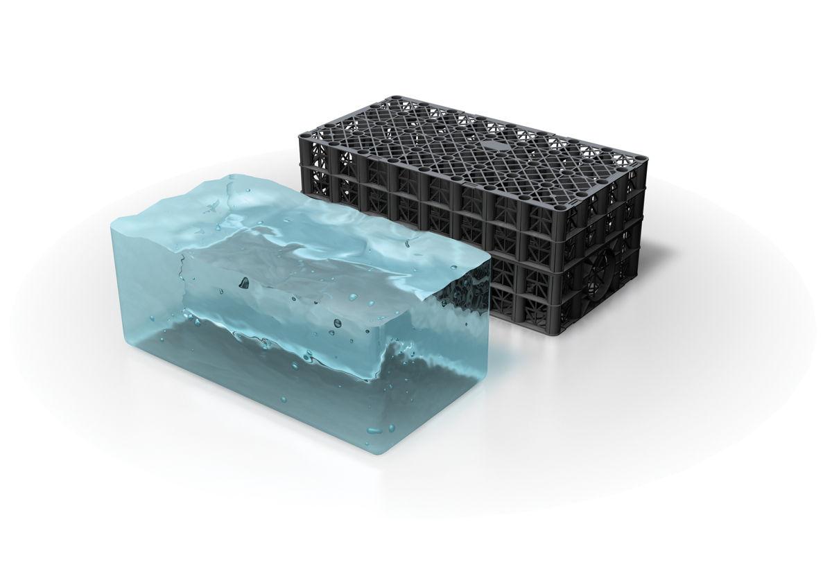 Polystorm 95% water