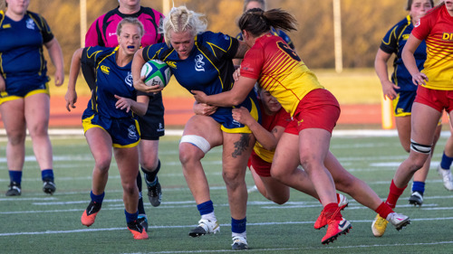 RUGBY: Lethbridge's Durfey named Player of the Week