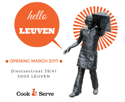 Cook & Serve opent zevende winkel in Leuven