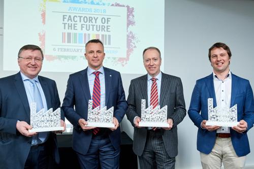 Vlaanderen heeft vier nieuwe Fabrieken van de Toekomst