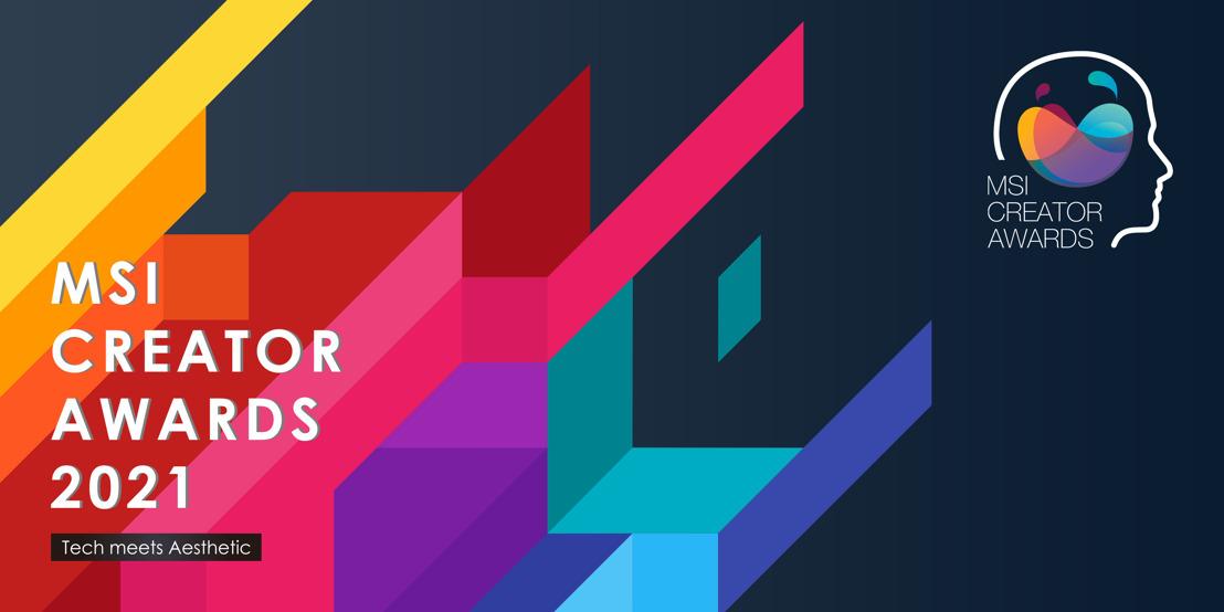 MSI lädt Creators weltweit zu den MSI Creator Awards 2021 ein!