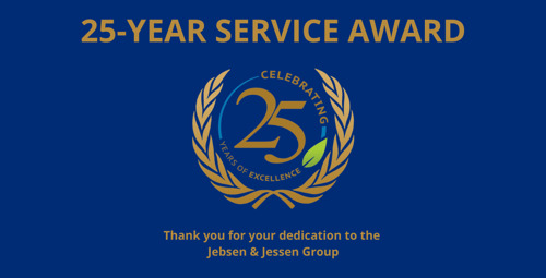 Celebrating 25-Year Service Milestones