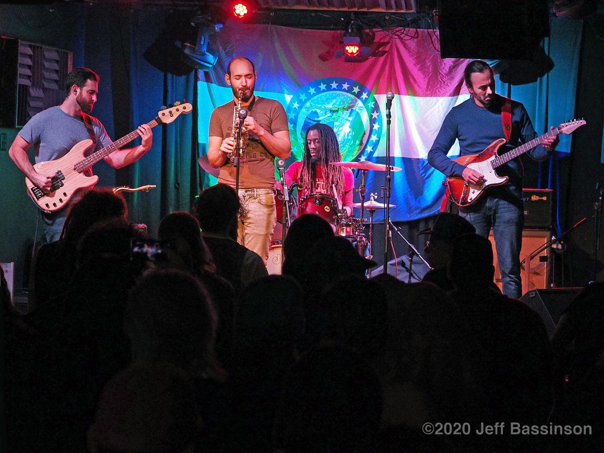 Jazz-rock band Marbin