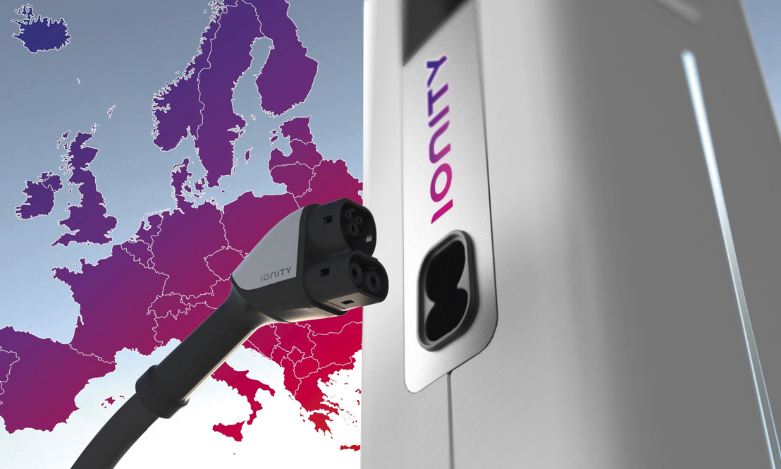 IONITY - un réseau de rechargement haute puissance paneuropéen permet l'e-mobilité sur de longues distances