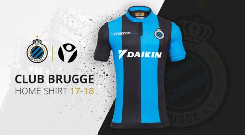 Daikin opnieuw shirtpartner Club Brugge