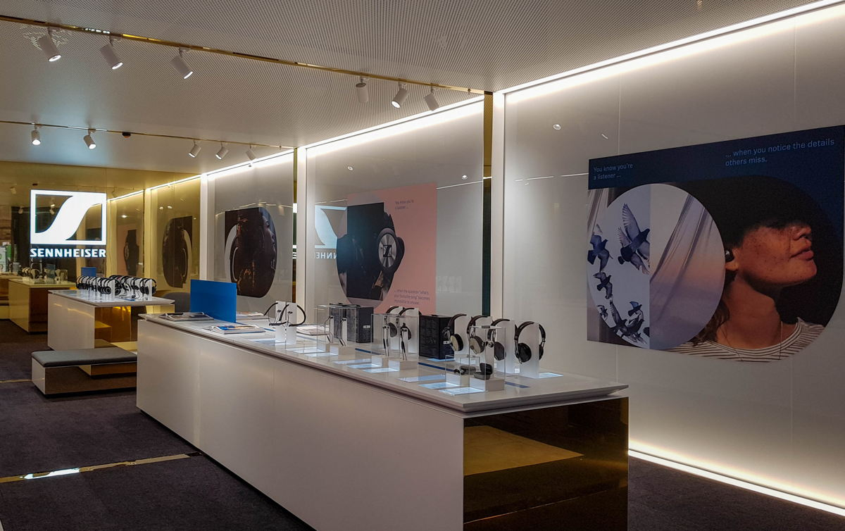 Sennheiser has opened a new flagship store in Sydney's Martin Place