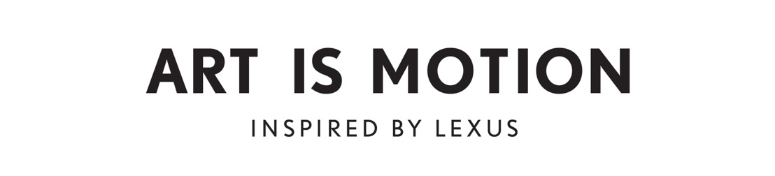 Lexus lanceert ART IS MOTION