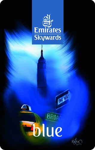 Emirates Skywards unveils 2016 card designs from 5th Art of Travel competition