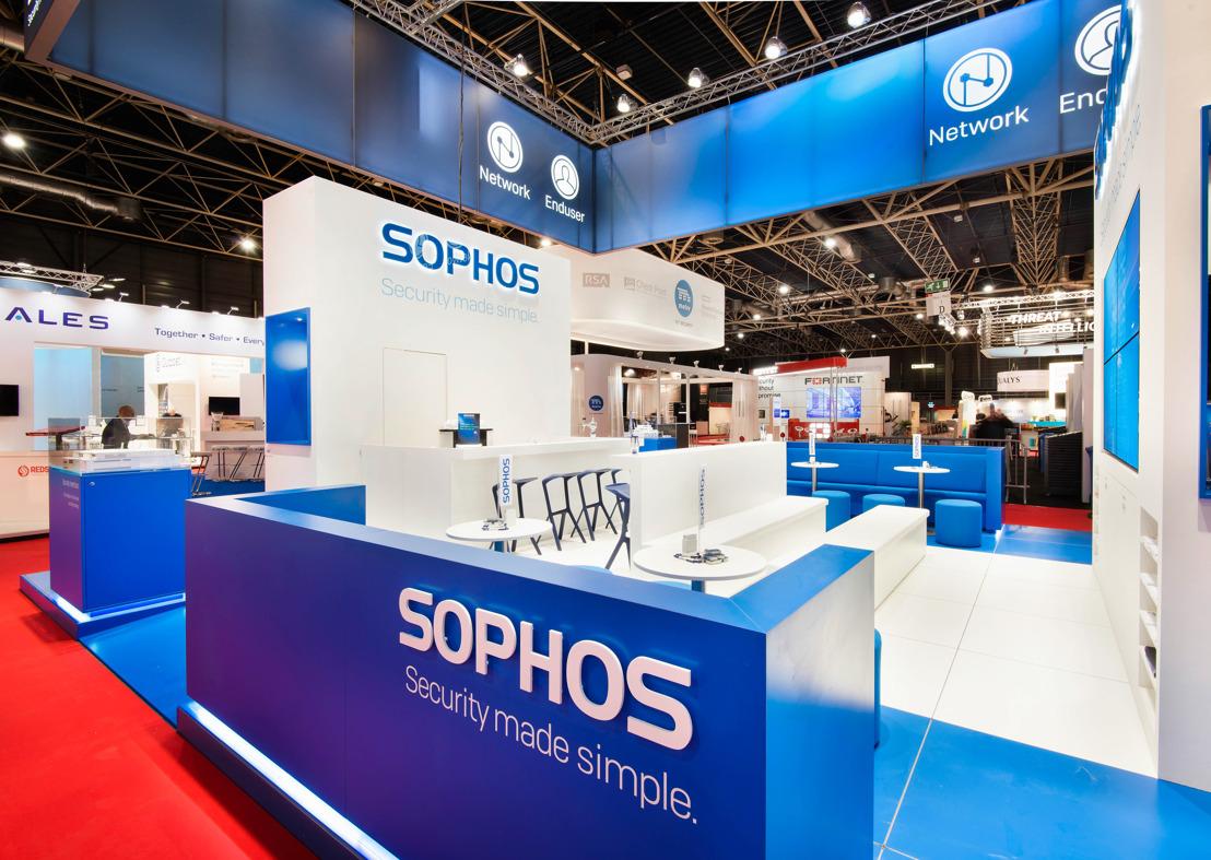 Sophos viert decenniumdeelname aan Infosecurity Belgium