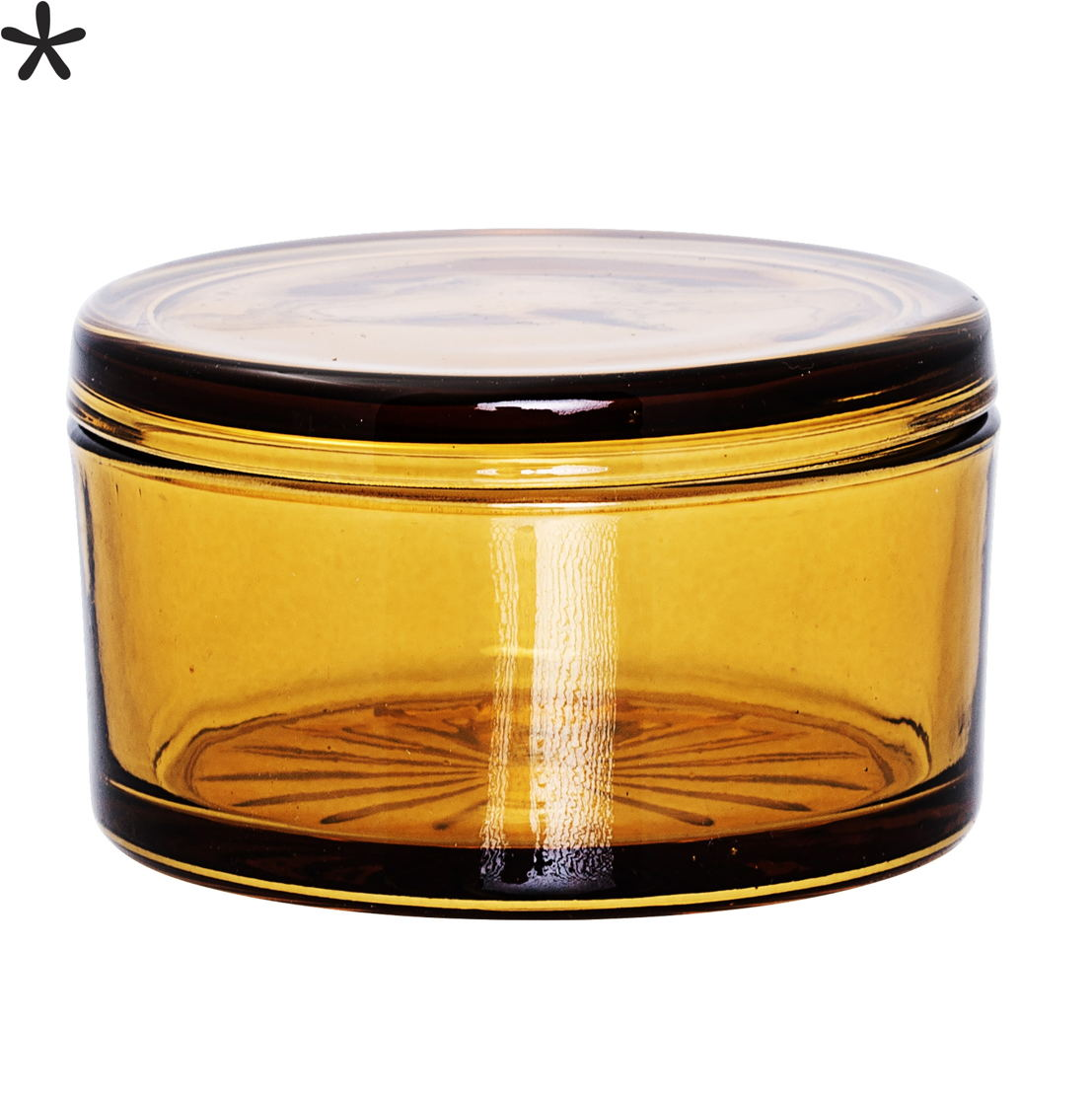 Bloomingville Voorraadpot met deksel amber 16€