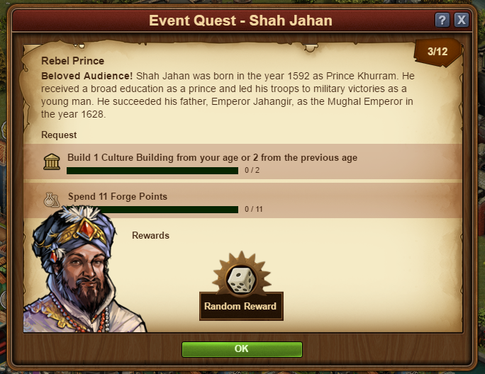 Forge of Empires - Shah Jahan